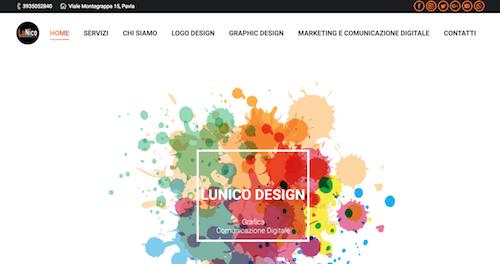 Sito Web LuNico Design